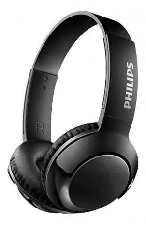 FONE DE OUVIDO BLUETOOTH PRETO PHILIPS BASS ON EAR SHB3075