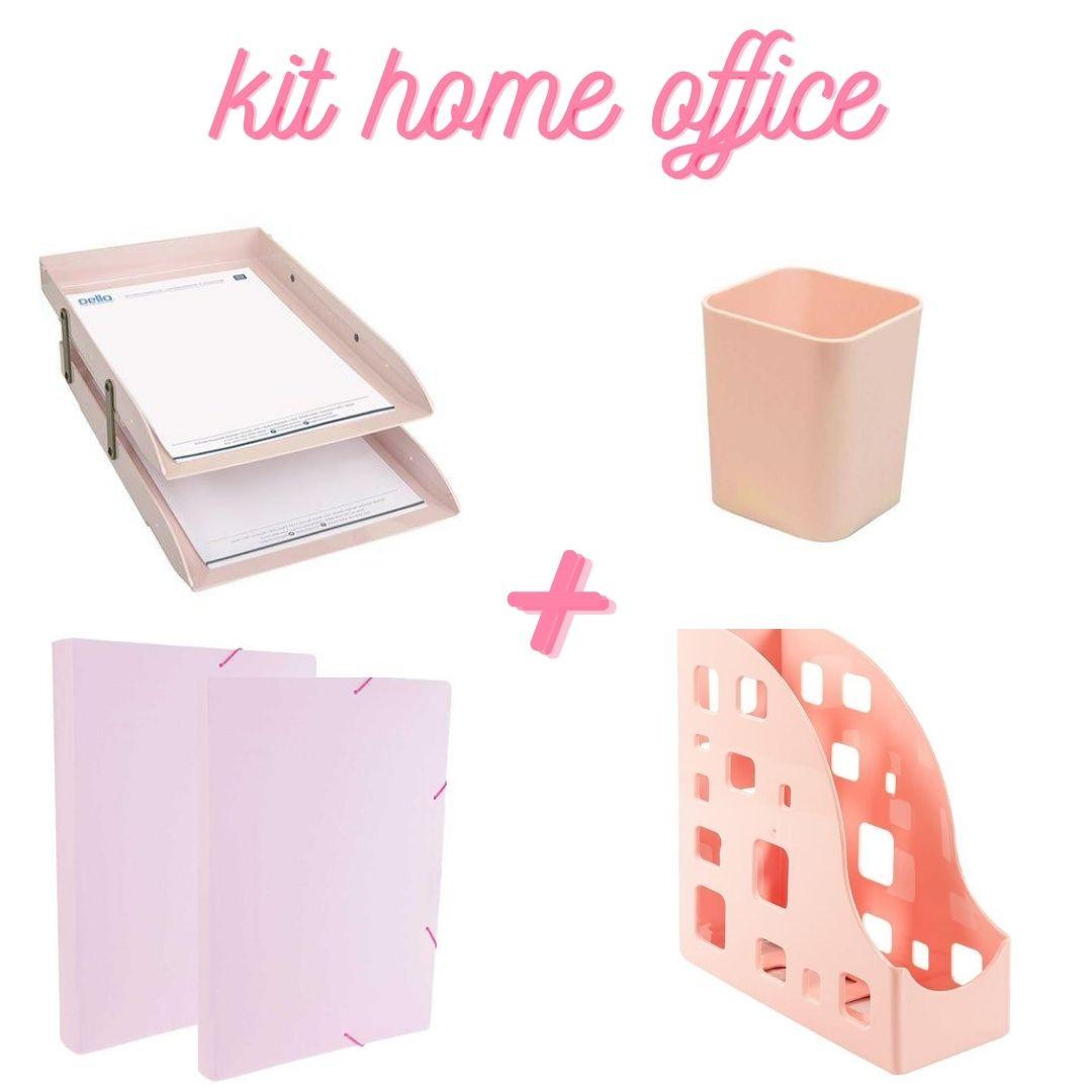 KIT HOME OFFICE DELLO ROSA C/5 PEÇAS