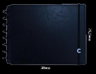 CADERNO INTELIGENTE SKETCHBOOK BASIC BLACK A4 30 FOLHAS