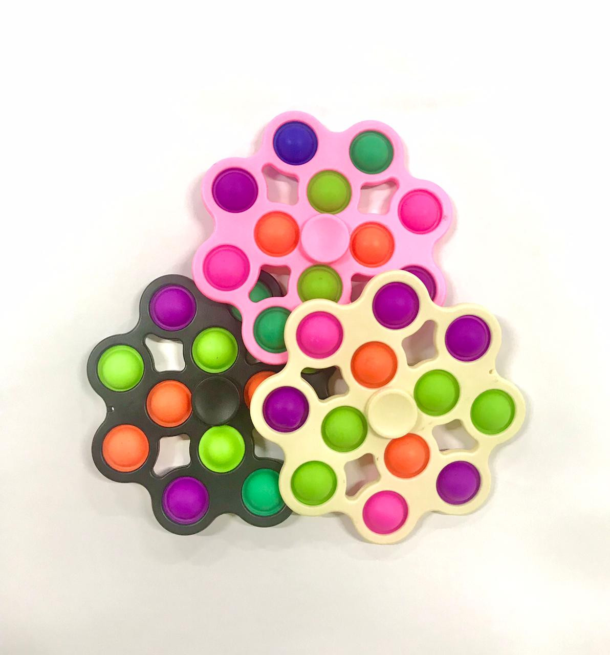 POP IT SPINNER ANTI STRESS COLOR
