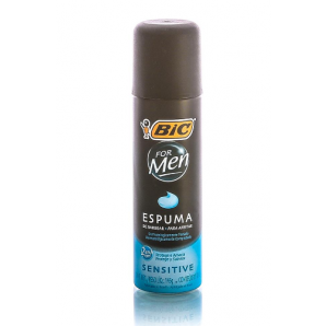 ESPUMA DE BARBEAR BIC FOR MEN SENSITIVE