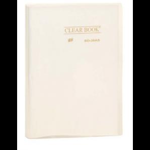 PASTA CATÁLOGO CLEAR BOOK TRANSPARENTE YES CRISTAL COM 30 SACOS PLÁSTICOS