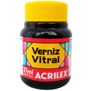 VERNIZ VITRAL ACRILEX 37ML 586 CORAL