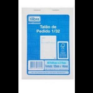PEDIDO 2 VIAS TILIBRA COM 40 FOLHAS