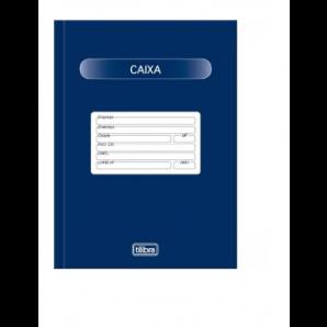 LIVRO CAIXA TILIBRA COM 100 FOLHAS