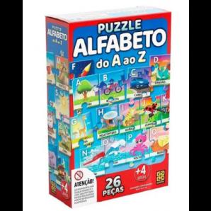 JOGO GROW PUZZLE ALFABETO DO A AO Z
