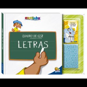 ESCOLINHA TODOLIVRO QUADRO DE GIZ - LETRAS