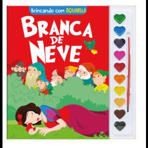 BRINCANDO COM AQUARELA: BRANCA DE NEVE TODOLIVRO