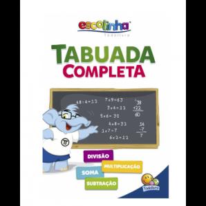 ESCOLINHA TODOLIVRO TABUADA COMPLETA