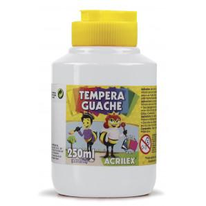 TINTA GUACHE 250ML ACRILEX 519 BRANCO