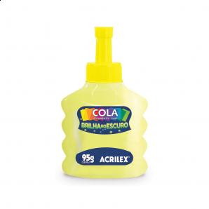 COLA ACRILEX BRILHA NO ESCURO 95G