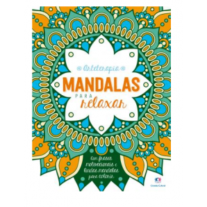 ARTETERAPIA MANDALAS PARA RELAXAR CIRANDA CULTURAL