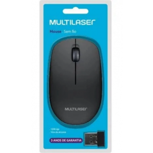 MOUSE SEM FIO MULTILASER USB