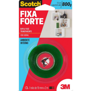 FITA FIXA FORTE SCOTCH 3M 19X2