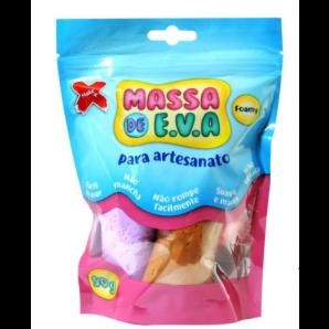 MASSA DE EVA ARTESANATO 50G COM 5 UNIDADES