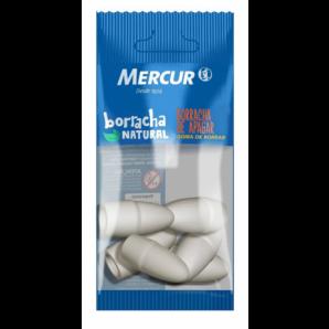 BORRACHA BRANCA MERCUR PONTEIRA COM 6 UNIDADES