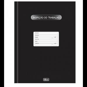 LIVRO INSPEÇÃO DO TRABALHO TILIBRA COM 50 FOLHAS