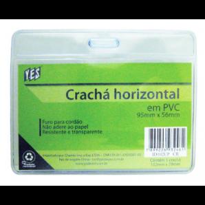 CRACHÁ DE IDENTIFICAÇÃO HORIZONTAL YES