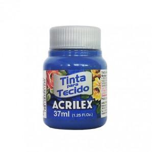 TINTA PARA TECIDO 37ML ACRILEX 502 AZUL COBALTO