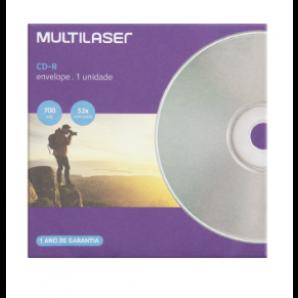 CD-R GRAVÁVEL MULTILASER CD006