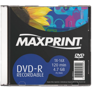 DVD-R GRAVÁVEL MAXPRINT