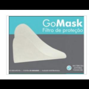 FILTRO DE PROTEÇÃO DESCARTÁVEL GOMASK COM 30 UNIDADES