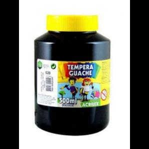 TINTA GUACHE 500ML ACRILEX 520 PRETO