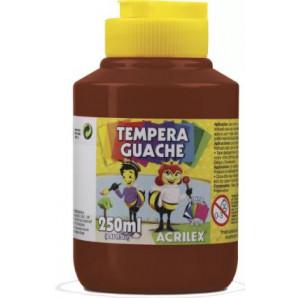 TINTA GUACHE 250ML ACRILEX 531 MARROM
