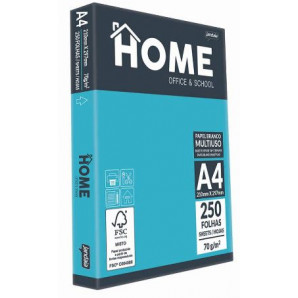 PAPEL JANDAIA HOME OFFICE A-4  210X297 70GR C/250F