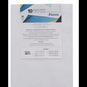 ENVELOPE BRANCO FORONI 26X36 COM 10 UNIDADES