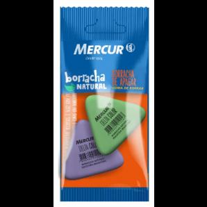 BORRACHA MERCUR DELTA COLOR COM 2 UNIDADES
