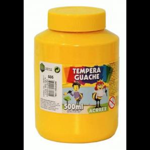 TINTA GUACHE 500ML ACRILEX 505 AMARELO OURO
