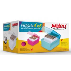 FICHARIO MESA 4X6 WALEU PRETO