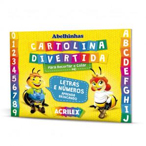 BLOCO DE ATIVIDADES CARTOLINA DIVERTIDA ACRILEX