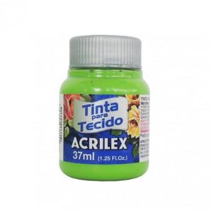 TINTA PARA TECIDO 37ML ACRILEX 510 VERDE FOLHA