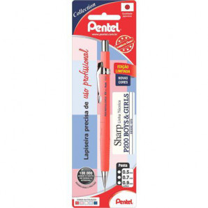 LAPISEIRA PENTEL 07MM P207 SHARP SALMÃO