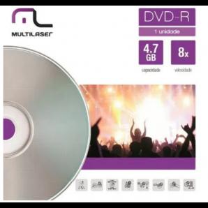DVD-R GRAVÁVEL MULTILASER DV018