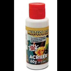 COLA GEL MULTICOLAGE ACRILEX 60G