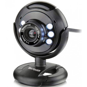 WEBCAM MULTILASER 16MP WC045 COM MICROFONE