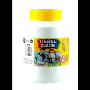 TINTA GUACHE 500ML ACRILEX 519 BRANCO