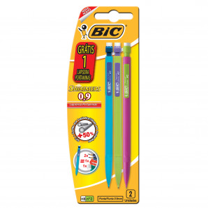 LAPISEIRA BIC 0.9MM SHIMMERS COM 3 UNIDADES