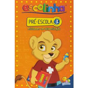 ESCOLINHA TODOLIVRO PRÉ-ESCOLA VOLUME 3