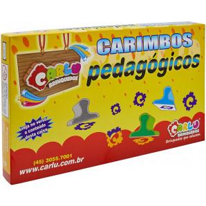 JOGO CARIMBOS PEDAGÓGICOS CARLU
