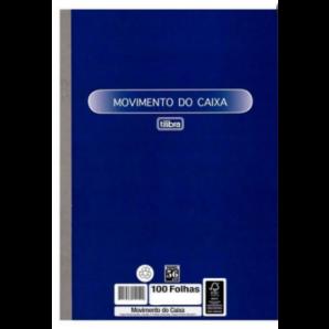 MOVIMENTO DO CAIXA TILIBRA COM 100 FOLHAS