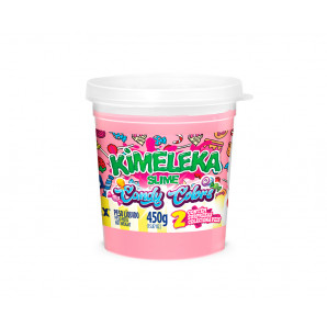 KIMELEKA SLIME ART KIDS CANDY COLORS ROSA BEBÊ ACRILEX
