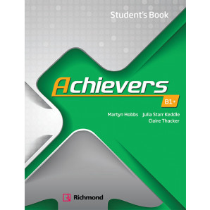 ACHIEVERS B1+ STUDENTS BOOK-MODERNA ( VERDE )