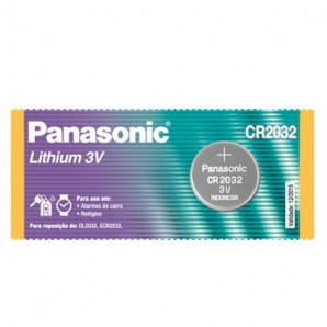 PILHA PANASONIC LITHIUM 3V CR2032