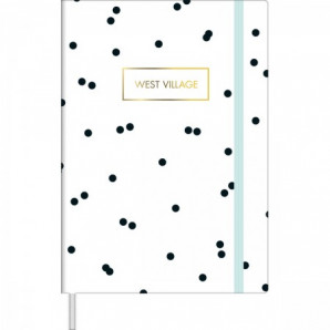 CADERNO TILIBRA SEM PAUTA FITTO M WEST VILLAGE 80 FOLHAS