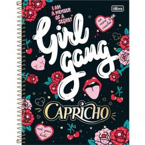 CADERNO CAPA DURA 1 MATÉRIA CAPRICHO TILIBRA 96 FOLHAS