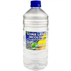 GOMA LACA INCOLOR ACRILEX 500ML